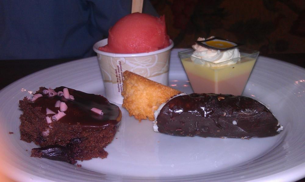Borgata buffet dessert