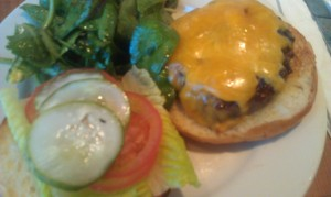 Astor Bake Shop burger