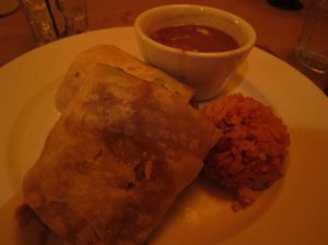 Ortega's kobe beef burrito