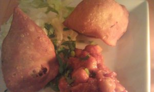 Saffron Garden Vegetable Samosa