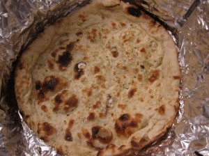 curry point garlic naan