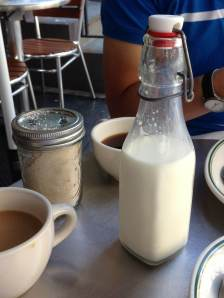 Milk and Coffee at Jacob's Pickles
