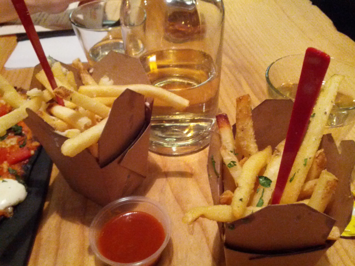 fries at high heat