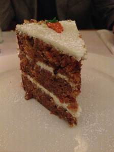 carrot cake at clinton street baking company