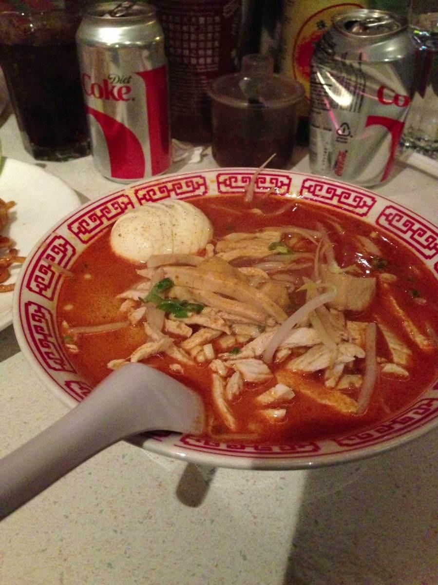 Singapore noodles at Noodle Bar