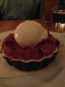 five points apple crisp