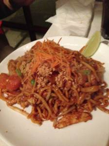 mee goreng at noodle bar