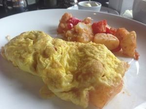 moonshine modern supper club omelette