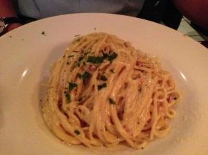 benito one spaghetti alla carbonara