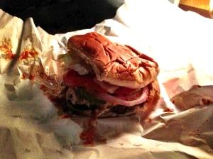 burger joint cheeseburger