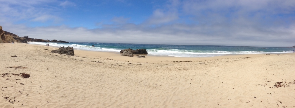 beach off highway 1