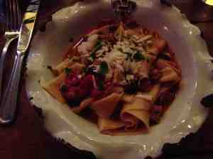 palma pappardelle dish