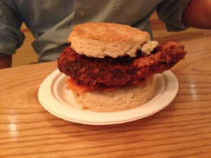 empire biscuit chicken biscuit