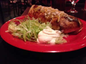 red cadillac beef burrito