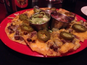 red cadillac nachos