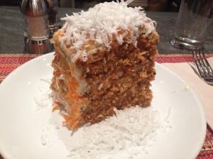 Friedman's carrot cake