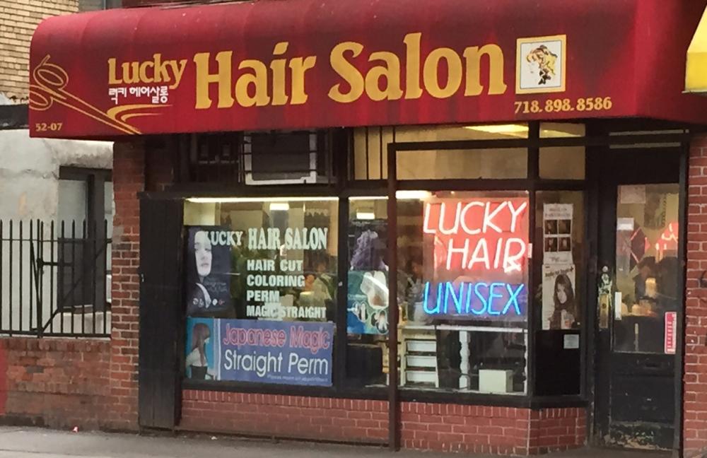 lucky hair