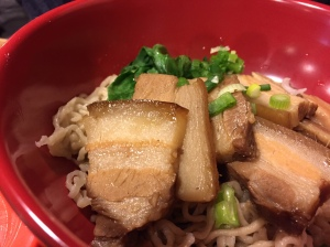 dumplings & things melt in your mouth pork belly noodles