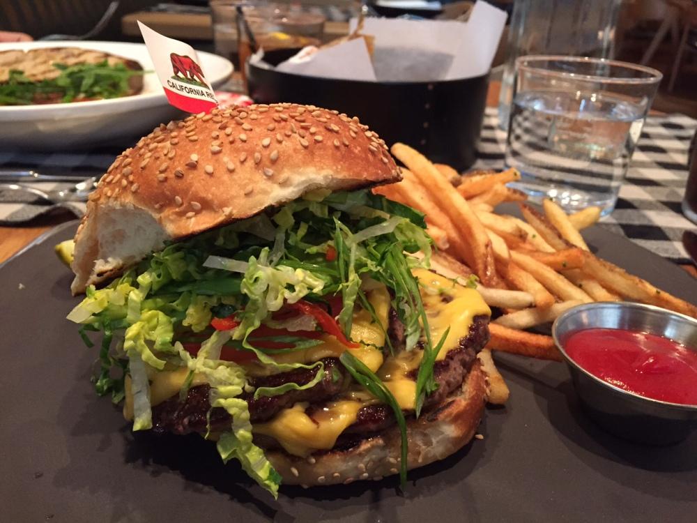 upland cheeseburger