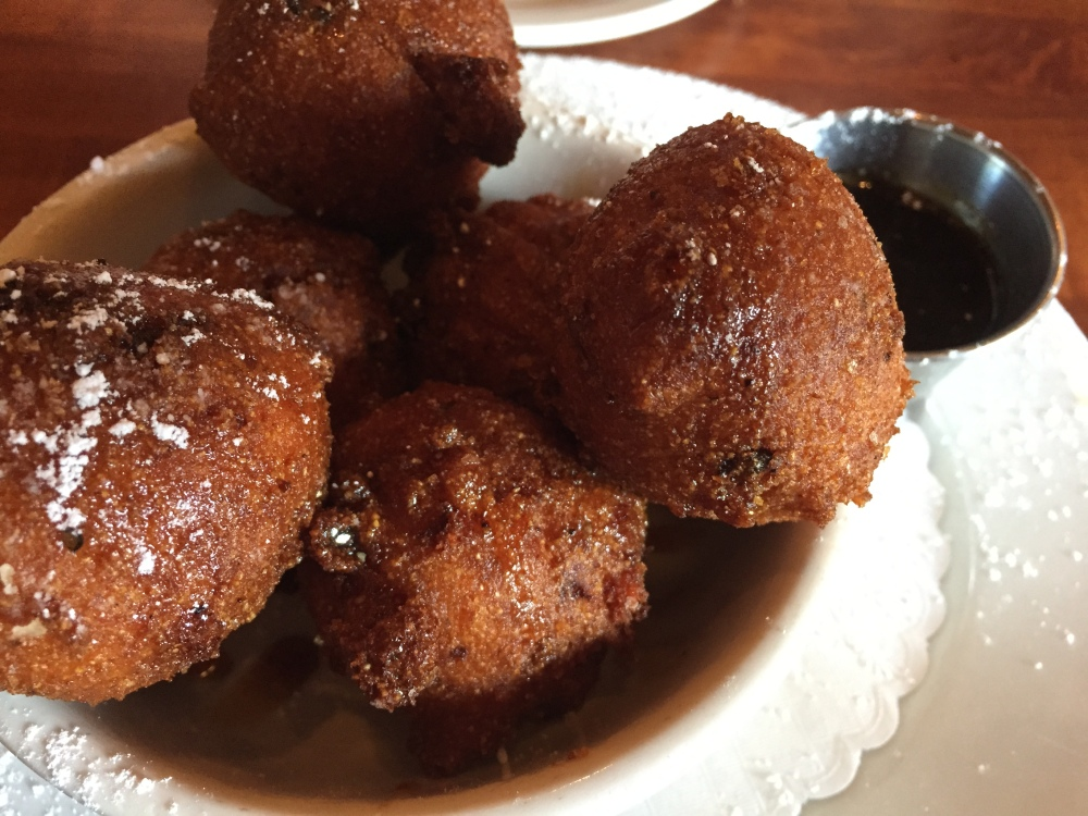 screen door glazed breakfast hushpuppies