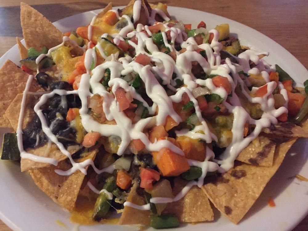 la cocina vegetable nachos